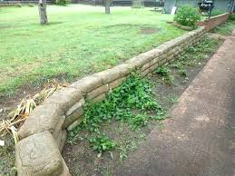 cement retaining wall cement bag retaining wall pin cement bag retaining wall the garage journal board
