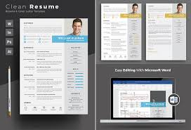 Ms Word Resume Template Inspiration 60 Professional MS Word Resume Templates With Simple Designs