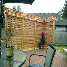 garden privacy screen screens bamboo outdoor