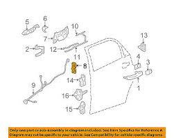 gm oem rear door lock actuator motor 25876390 • 147 09 picclick gm oem rear door lock actuator motor 88981000