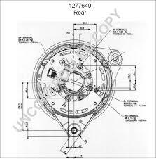 1277640 alternator product details prestolite leece neville
