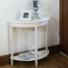 half moon hall table latest half moon table with half moon console table bay s collection half moon round hall table with drawer espresso