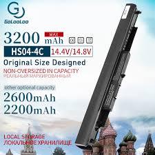 <b>Golooloo 4 Cells</b> HSTNN LB6V 807957 001 <b>Laptop</b> Battery <b>for</b> HP ...