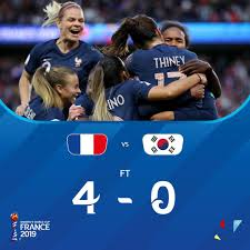 "Priscilla Duncan on Twitter: ""Brilliant start to the #FIFAWWC! Quality  goals & @amandinehenry6 bossed the game from midfield. Really happy for the  hosts who always have so much pressure on them 🙌 #"