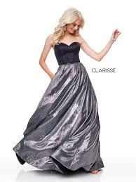 Clarisse Dress 3710 Two Toned Strapless Prom Dress Prom 2019