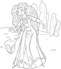 Small Picture Coloring Pages Kids Brave Disney Pixar Movie Coloring Brave