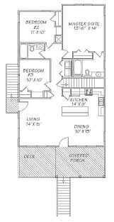 Stoney Hill Raised Beach Home Plan 024D0085  House Plans And MoreBeach Cottage Floor Plans