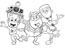 Small Picture Jimmy Neutron and His Best Friends Coloring Pages Bulk Color
