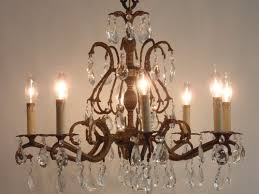 29 best chandeliers vintage crystal and brass images on regarding new home brass chandelier decor