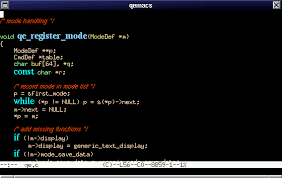 QEmacs Screenshots