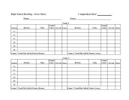 Bowling Spreadsheets Cricket Score Sheet Template Excel Harezalbaki Co