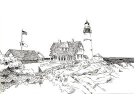 Small Picture ocean lighthouse template