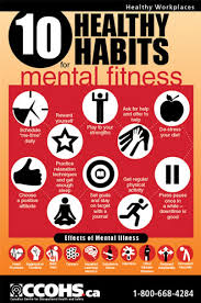 10 Healthy Habits For Mental Fitness