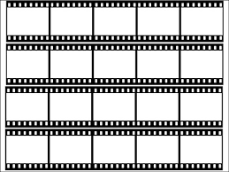 Film Strips Pictures Novelty Blank Film Strip Edible Icing Cake Side Strips Ribbon 4