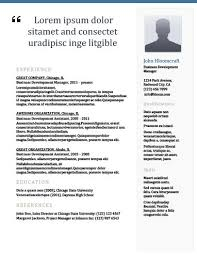 Modern Newsetter Resume Templates 22 Contemporary Resume Templates Free Download Hloom