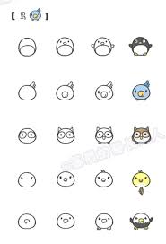 cute easy animal drawings step by step. Contemporary Easy 2  KAWAII Pinterest Drawings Doodles And Cute  Drawings To Easy Animal Drawings Step By S