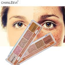 5 color camouflage cream high coverage concealer palette skin tone color corrector cover eyes dark circle