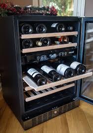 newair wine cooler reviews.  Cooler NewAir Black Stainless Steel Wine Cooler 46 Bottle Dual Zone Fridge  Review And Newair Cooler Reviews B