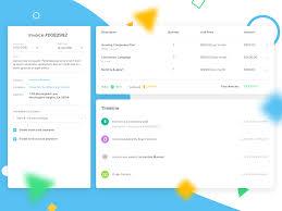 Order Details Ui Design Kizen App Order Details App Design App Landing Page Design