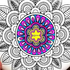 Mandala Color Jumppartyorg