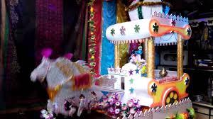 homemade ganpati decoration 2014 moving rath youtube