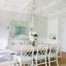 white dining room buffet. Gray Oval Dining Table With Lattice Back Chairs White Room Buffet C