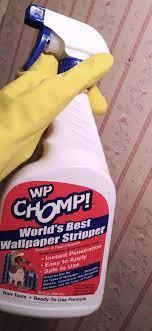Solution to Remove Wallpaper Glue ...