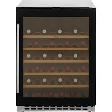 built in wine fridge. AEG SWE66001DG Built In Wine Cooler - Black Glass A Rated Fridge T