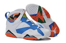 air jordan shoes for girls 2015. 2015 air jordan 7 white blue black orange shoes for girls s