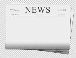 Blank Newspaper Ad Template 14 Blank Newspaper Templates Free Sample Example Format