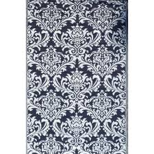 ground work rugs modern outdoor rug ai in grey white reviews temple webster