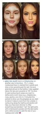 how to contouring and highlighting step by step