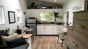 mid century modern tiny home small house interior design ideas
