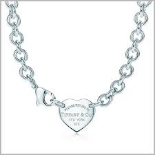 tiffany blue heart necklace tiffany blue heart necklace 482992 return to tiffany heart tag choker in