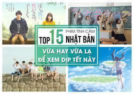 TOP 15 PHIM TÌNH CẢM NHẬT BẢN