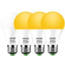 Ebay Dusk To Dawn Lights Details About Dusk To Dawn Light Bulbs A19 8w 720 Lumens Amber Led Orange Yellow Sensor