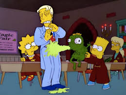 October 12th U2013 U201cTreehouse Of Horror XIIu201d S13E01  Treehouse Of The Simpsons Treehouse Of Horror 12