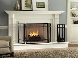 image of cool prefab fireplace