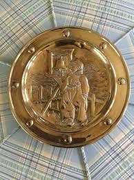 mid century brass wall plates 3