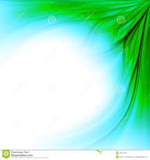 Blue Green Grass Border Background Stock Illustration Illustration