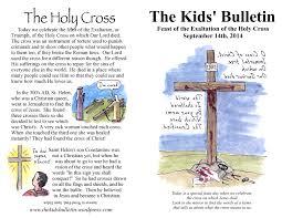 The Kids Bulletin Triumph of the Cross   The Kids\u0027 Bulletin