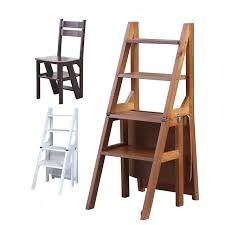 multi furniture. convertible multifunctional fourstep library ladder chair furniture folding wooden stool multi f