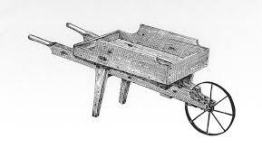 wooden wheelbarrow kit