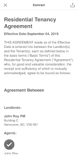Residential Lease Contract Residential Tenancy Agreement Explained Liv Rent Blog