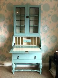 desk painted secretary desk hand painted secretary desk from small painted secretary desk
