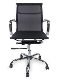 eames designer mesh boardroom office chair low back black interior secrets