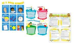 How To Make Children S Day Chart Free Charts And Banners For Bulletin Boards Edhelper Com