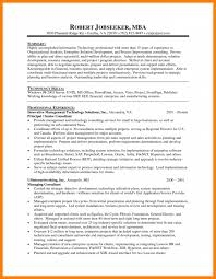 Mba Resume Template Mba Resume Samples Finance For Experience Sample Harvard Fresher ...