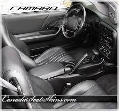 2002 chevrolet camaro leather upholstery