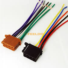 compare prices on wire harness for car stereo online shopping buy Wire Harness Adapter Car Stereo car audio stereo wiring harness for volkswagen audi mercedes pluging into oem factory radio wire harness adapter car stereo